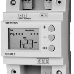 Siemens SEH62.1 Digital time switch, 1-channel, with 7-day program