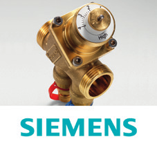 Siemens Pressure Independent control valves